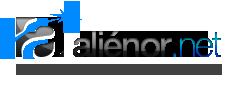 Logo de Aliénor.net, création de site internet, hébergement, création graphique, webmarketing.